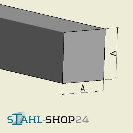 aluminium vierkant vierkantstab alu vierkant ebay. Black Bedroom Furniture Sets. Home Design Ideas